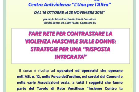 """Corso per operatrici e operatori di Rete """"Fare Rete"""""""