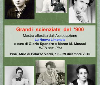 Le grandi scienziate del '900