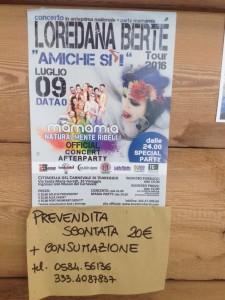 Biglietti in prevendita presso la Casa delle Donne di Viareggio