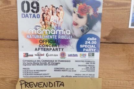 Concerto di Loredana Bertè a Viareggio il 9 luglio 2016